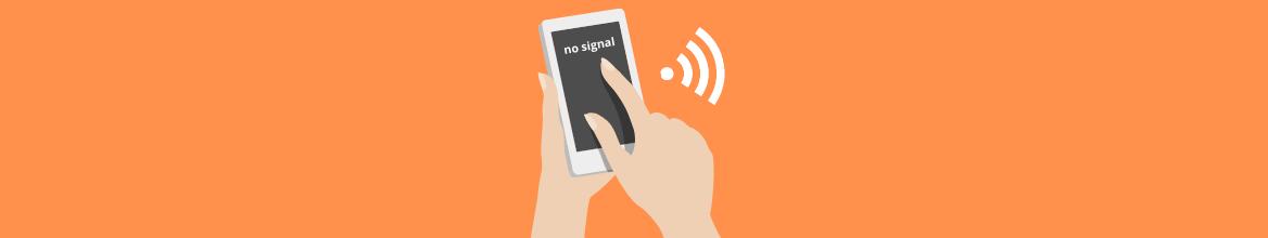 ¿Como medir la señal del móvil con un Iphone?